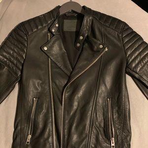 All saints Jasper leather  Motorcycle jacket